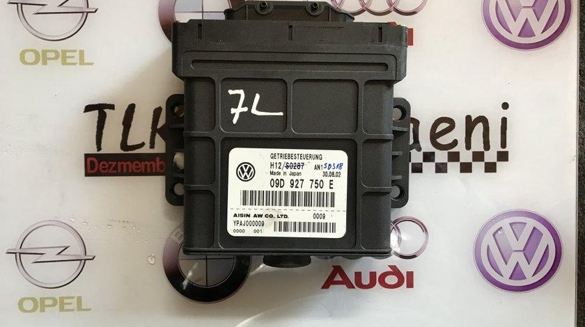 09D927750E calculator cutie de viteze automata VW Touareg 7L