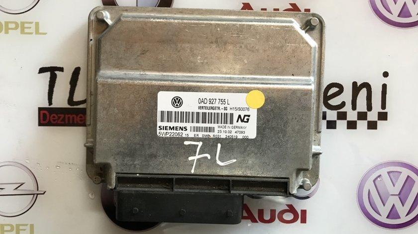 0AD927754L calculator cutie transfer manuala VW Touareg 7L