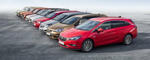 10 generatii si peste 50 de ani de traditie. O istorie in imagini a germanului Opel Astra Sports Tourer