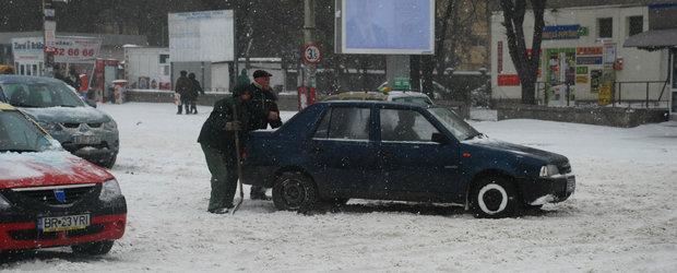 10 sfaturi pentru soferii din Bucuresti inainte de venirea iernii