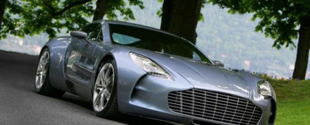 10 (Zece!) Aston Martin One-77 pentru un singur cumparator!