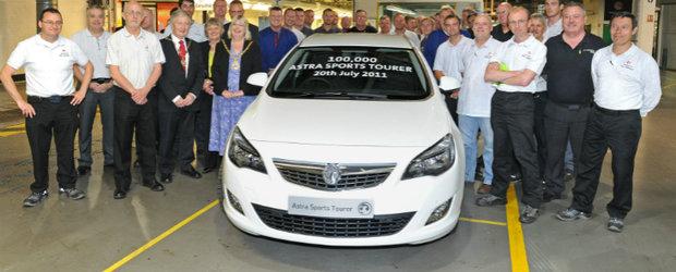 100.000 de unitati Opel Astra Sports Tourer produse