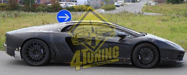 100% EXCLUSIV - Poze de la fata locului cu viitorul Lamborghini!