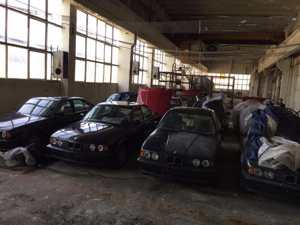 11 BMW E34 gasite in Bulgaria - 11 BMW E34 gasite in Bulgaria