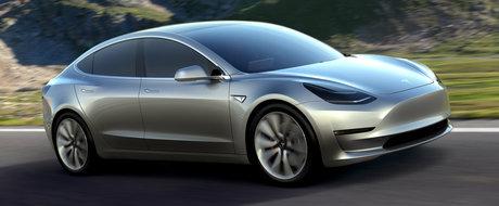 133.000 de rezervari pentru Tesla Model 3, cea mai ieftina masina electrica
