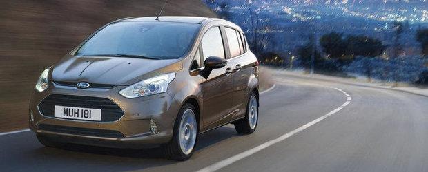 15.800 de euro, pretul de pornire al lui Ford B-Max in Franta