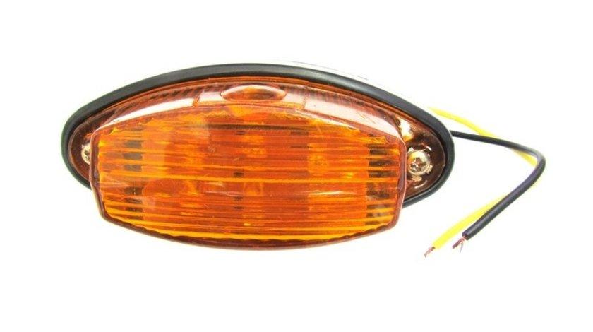 15 x 03 Lampa LED 24V Galbena VistaCar