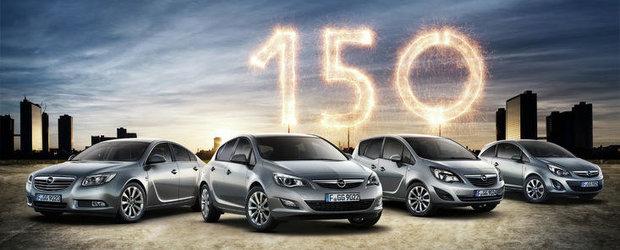 150 de ani de la infiintarea Opel, 100 de ani de prezenta in Romania