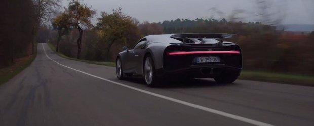 1500 CP in actiune: Cum se simte acceleratia noului Bugatti Chiron de pe scaunul pasagerului