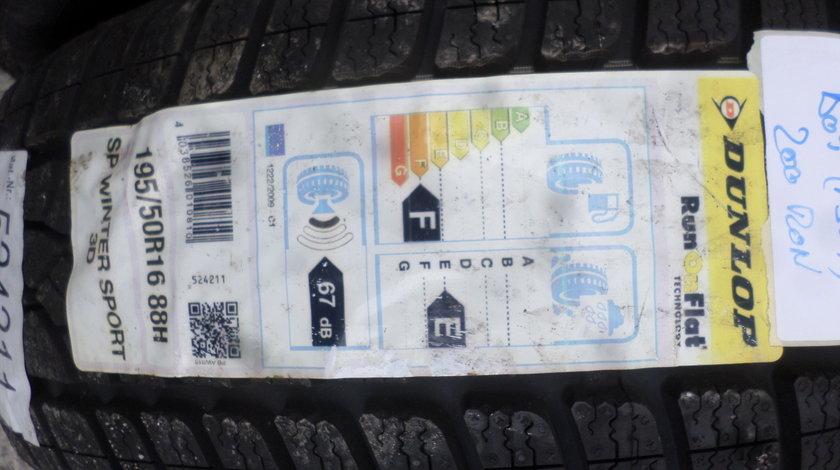 195 50 16 Iarna NOII Dunlop O bucata
