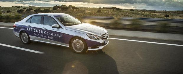 1968 km cu un plin. O noua performanta de la Mercedes E300 BlueTEC Hybrid
