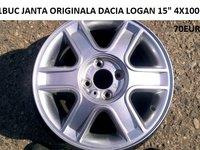 1BUC JANTA ORIGINALA DACIA LOGAN 15 4X100