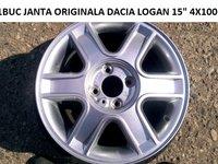 1BUC JANTA ORIGINALA DACIA LOGAN NOUA 15 4X100