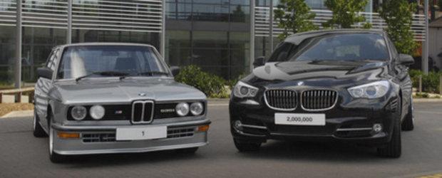2.000.000 de modele BMW vandute in Marea Britanie