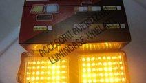 2 x 22 LED Stroboscop cu lumina de urgena tractari