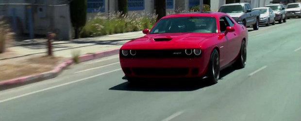 20+ minute alaturi de noul Dodge Challenger SRT Hellcat