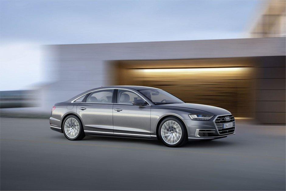 2018 Audi A8- imagini oficiale