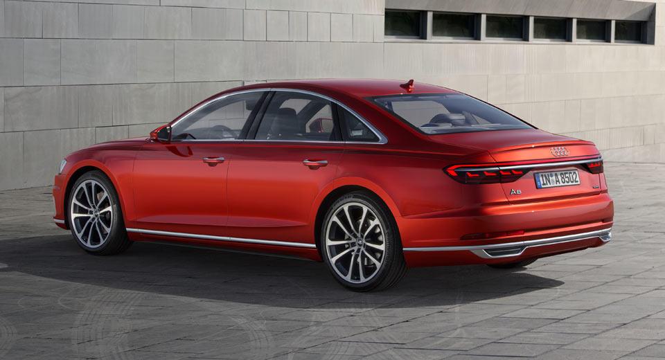 2018 Audi A8- imagini oficiale - 2018 Audi A8- imagini oficiale
