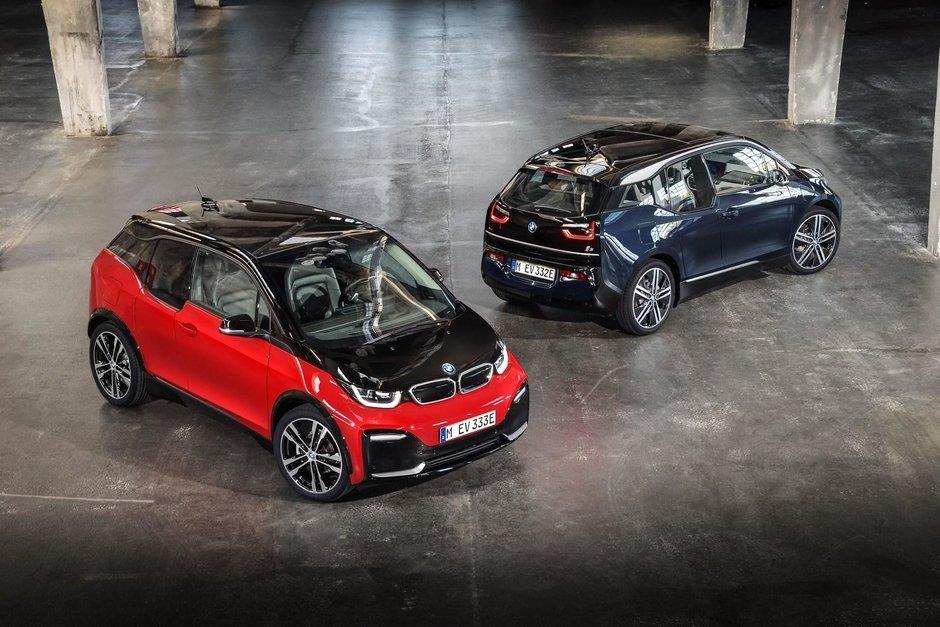 2018 BMW i3 facelift si i3s