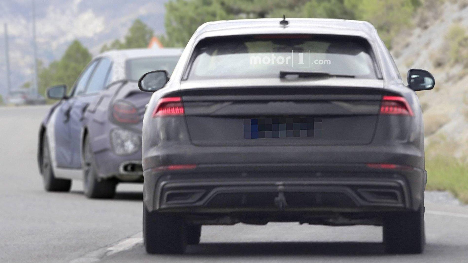 2019 Audi Q8- Poze Spion - 2019 Audi Q8- Poze Spion