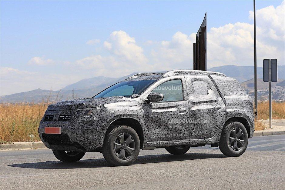 2019 Dacia Duster- poze spion
