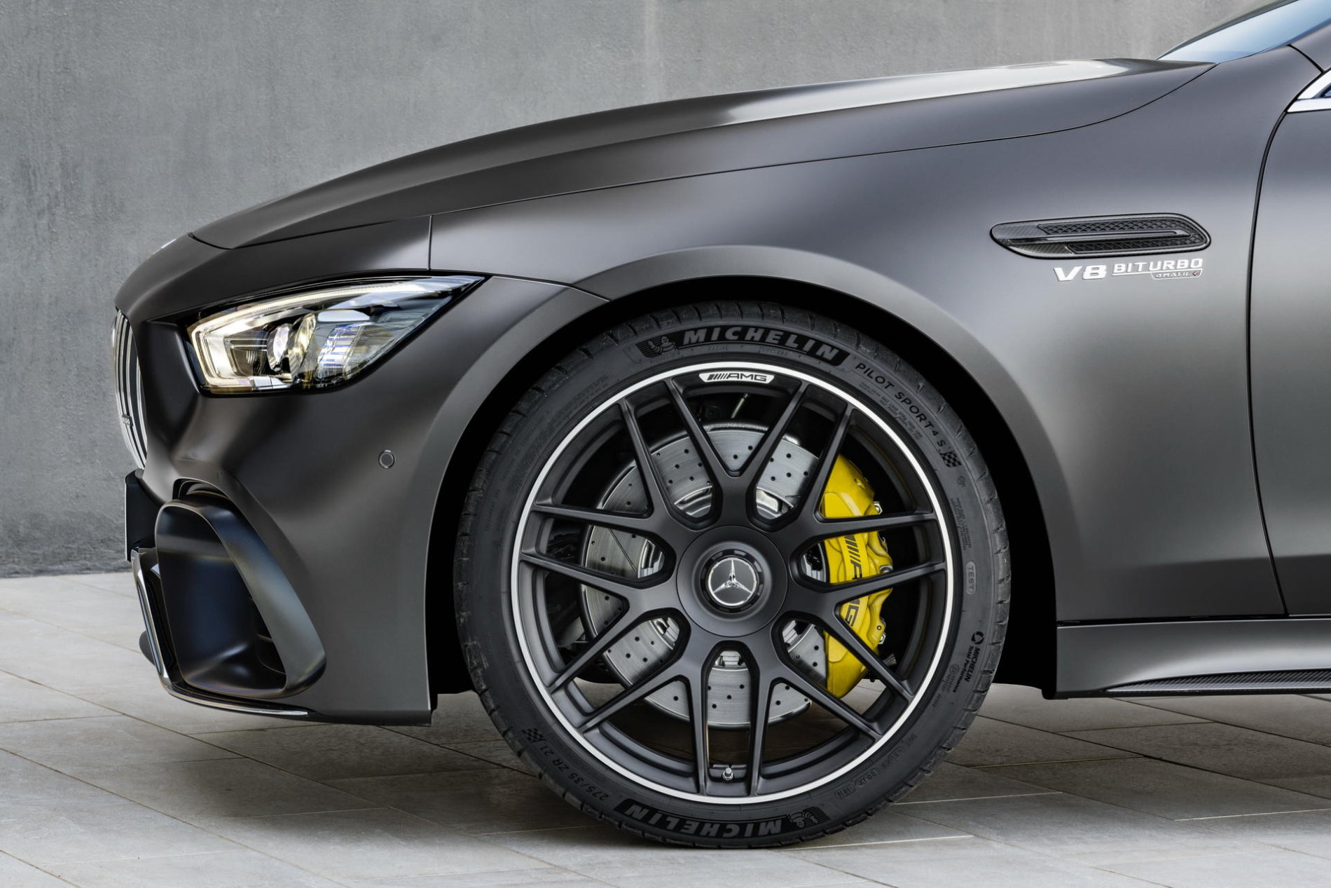 2019 Mercedes-AMG GT 4-Door Coupe - 2019 Mercedes-AMG GT 4-Door Coupe