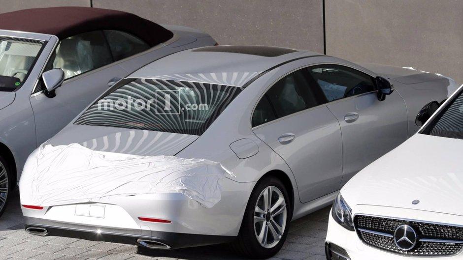 2019 Mercedes-Benz CLS- poze spion