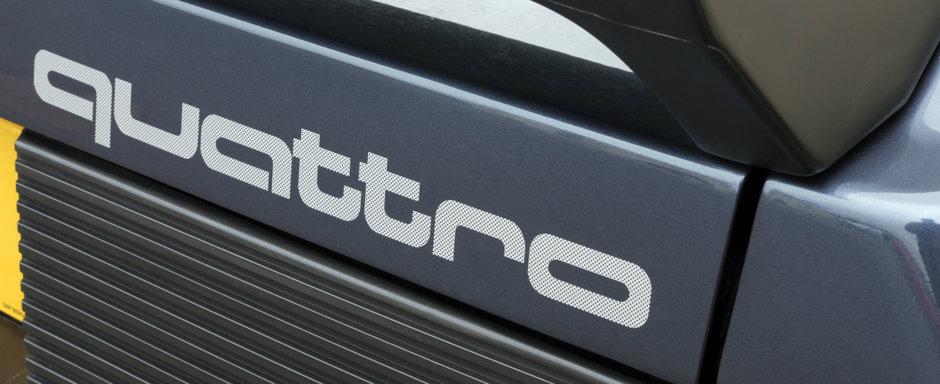 2020 este anul quattro. Legendarul sistem de tractiune integrala de la Audi implineste 40 de ani
