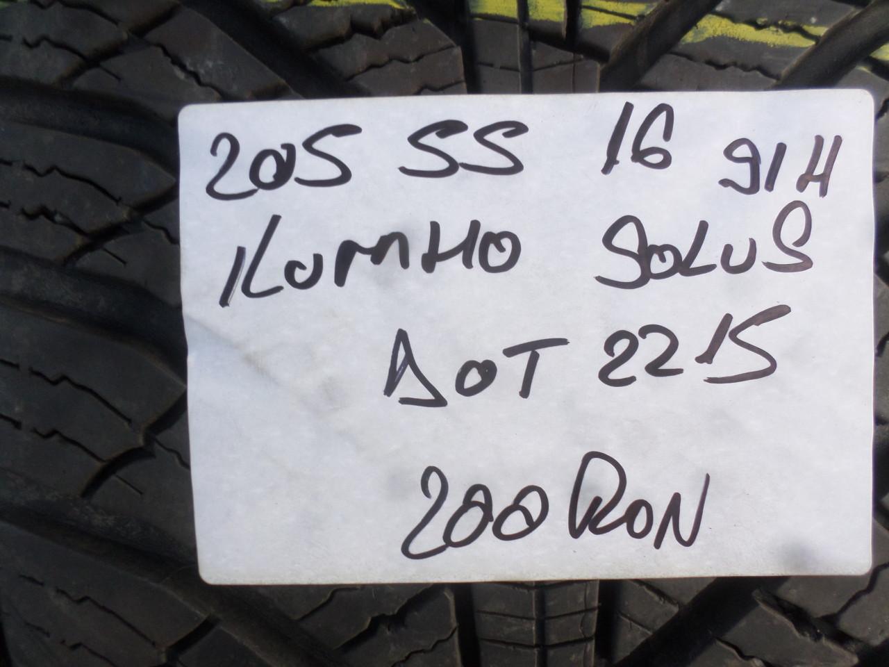 205 50 16 Iarna kumho Solus