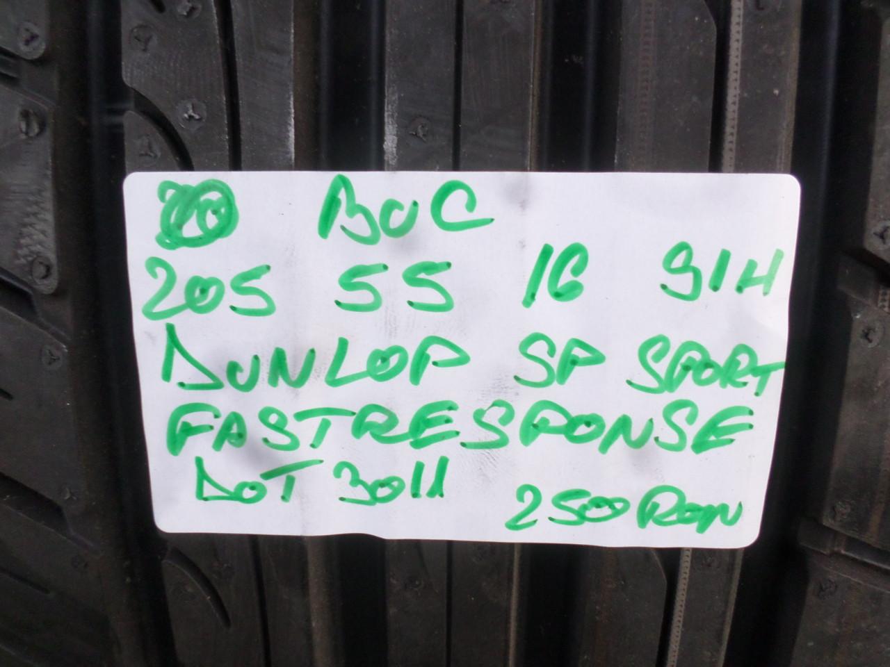 205 55 16 NOUA  Vara Dunlop Fasstresponse o bucata