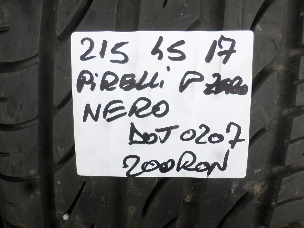 215 45 17 Vara Pirelli
