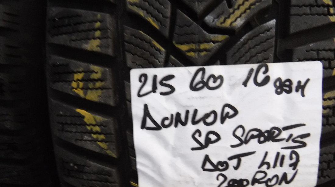 215 60 16 iarna Dunlop Winter Sport 5  dot (3919)