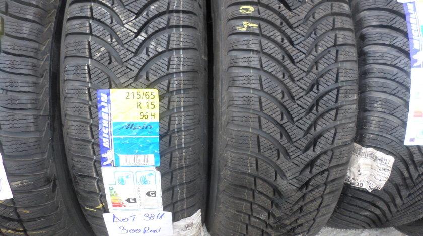 215 65 15 iarna Noii Michelin Alpin A4  dot (3811)