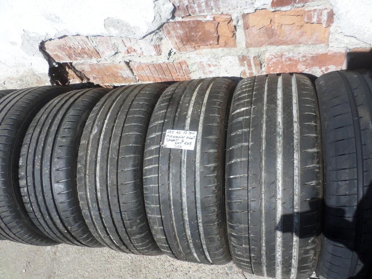 225 45 17 Vara Noi Michelin Pilot Sport 4  dot (4318)