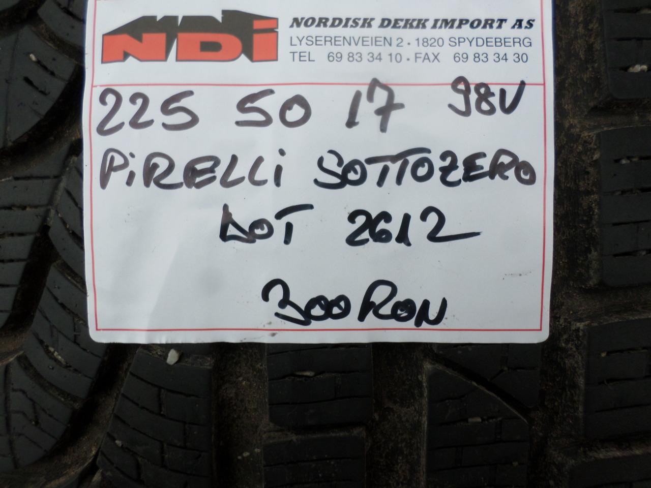 225 50 17 Iarna Pirelli