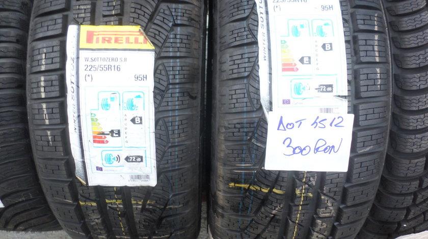 225 55 16 iarna Noi Pirelli Sottozero s2 DOT (4512)