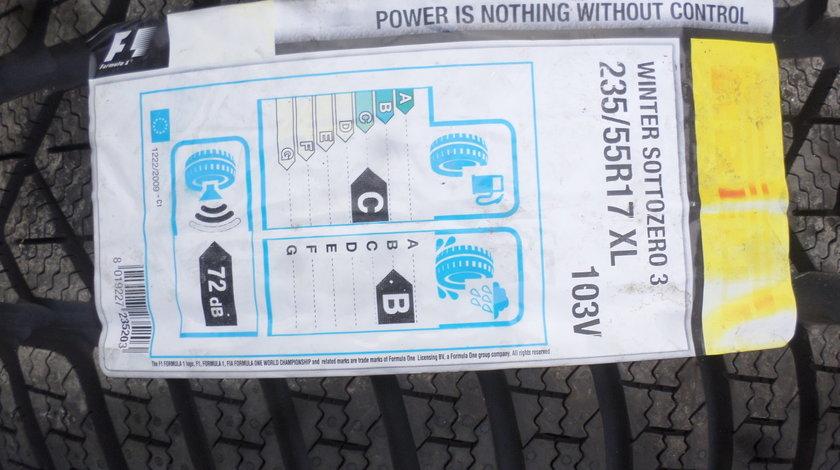 235 55 R17 Iarna  Noua Pirelli Sottozero S3 dot (2217)