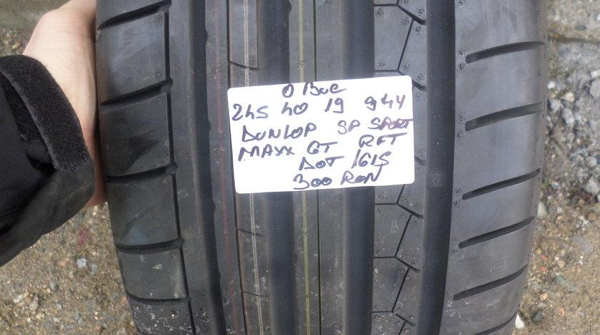 245 40 19 Vara Dunlop  Sp Sport Maxx GT  rft o bucata