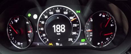 260 de cai germani in actiune: Test de acceleratie cu noul Opel Insignia 2.0 Turbo AWD