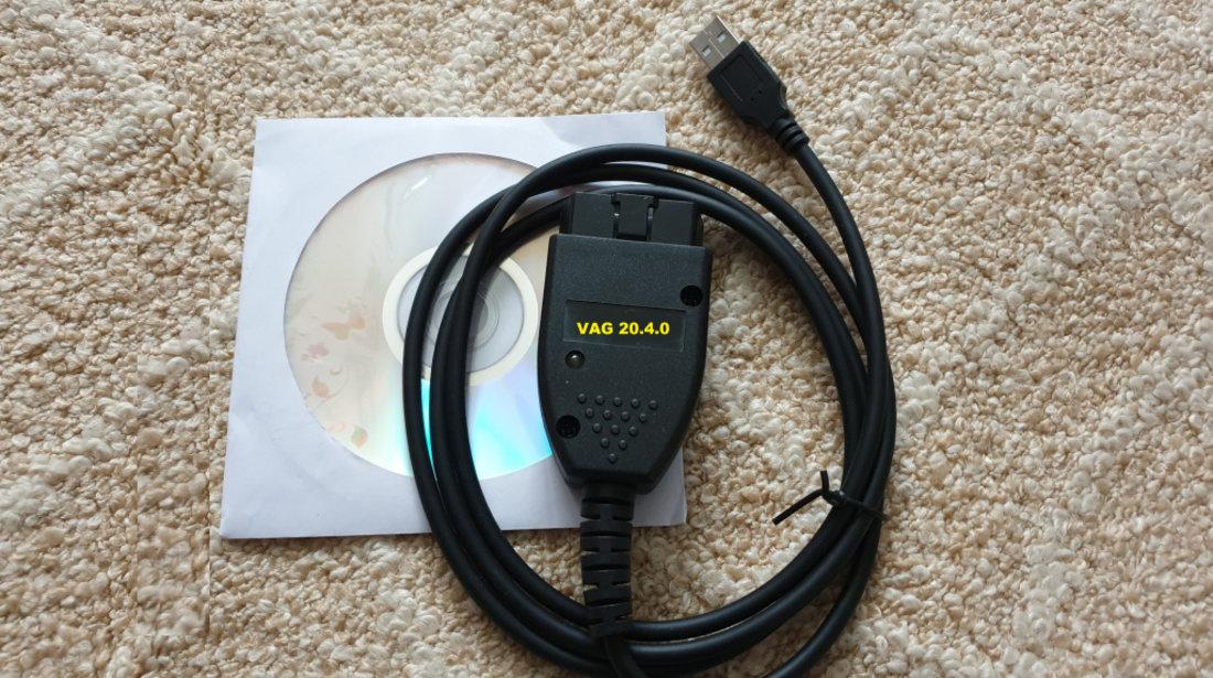 2in1 VAG COM VCDS 20.4.0 HEX-CAN limba Engleza + 19.6.2 limba ROMANA