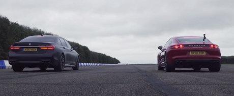 3, 2, 1... START! Liniuta intre cel mai puternic BMW al momentului si Porsche Panamera Turbo