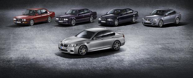 30 de ani de BMW M5: Totul despre istoria super-modelului bavarez