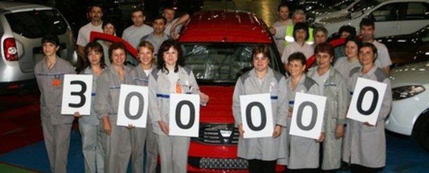 300.000 de vehicule Logan MCV produse la Uzina Dacia