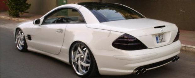 306 White HP: Mercedes SL500 by Razvan