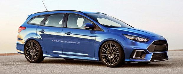 320 CP si spatiu din belsug: Ce-ai zice de un Ford Focus RS... break?