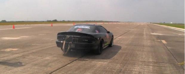 392 kilometri pe ora la bordul unui Chevrolet Camaro? Sigur, de ce nu?!