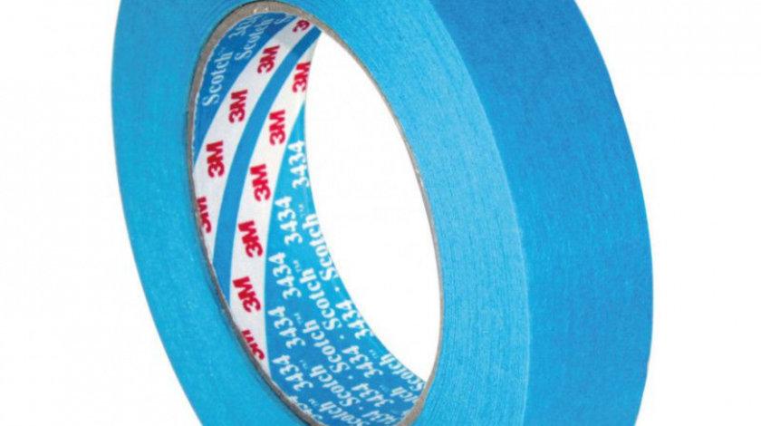 3M Banda Mascare Rezistenta La Apa High Performance Masking Tape 3434 19MM X 50M 07895