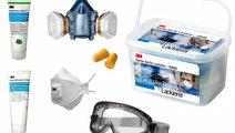 3M Kit Complet Masca Gaze + Ochelari + Filtre 5068...