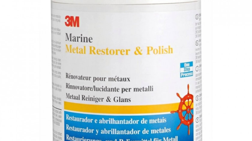 3M Pasta Polish Reconditionat Metal Metal Restorer & Polish 500ML 09019