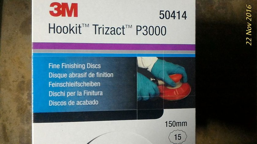 3M trizact P6000 discuri slefuit/polish
